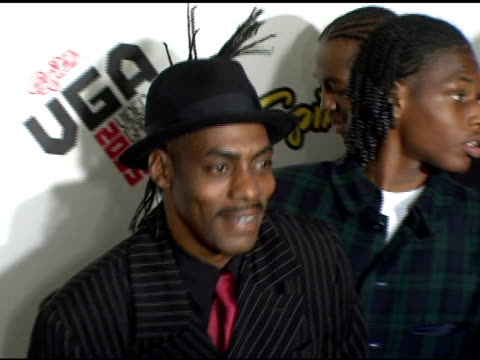 coolio at the spike tv video game awards at the gibson amphitheatre in los angeles, california on november 18, 2005. - gibson amphitheatre stock-videos und b-roll-filmmaterial