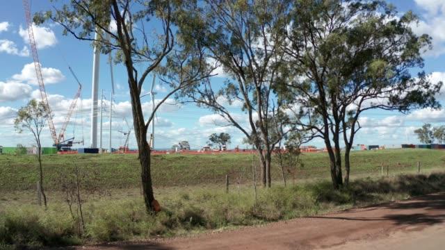 coopers gap wind farm - 田舎道点の映像素材/bロール