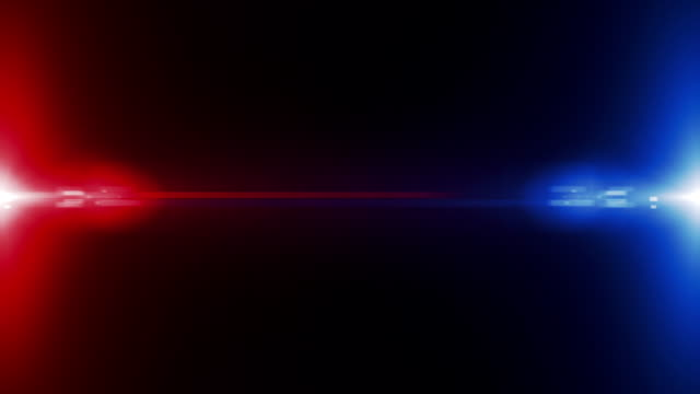 cop background (loopable) - blinking stock videos & royalty-free footage