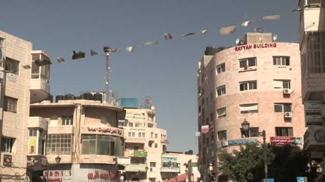 Cop Directing Traffic, Ramallah, Palestine