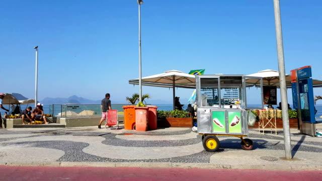 copacabana beach - vender stock videos and b-roll footage