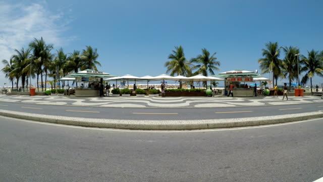 copacabana beach - copacabana beach stock videos & royalty-free footage