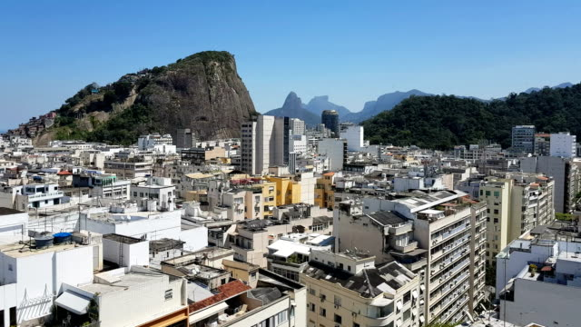 copacabana district - favela stock videos and b-roll footage