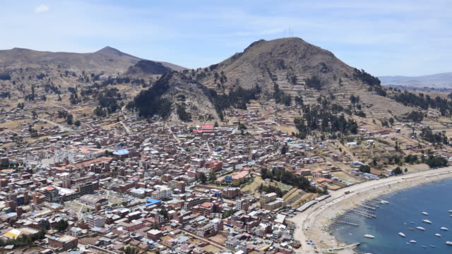 stockvideo's en b-roll-footage met copacabana in bolivia - bolivia