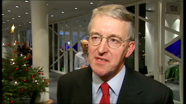protests and arrests continue int hilary benn mp interview sot getting deal on deforestation is fundamental to getting an agreement here / it's... - oresund region stock videos & royalty-free footage