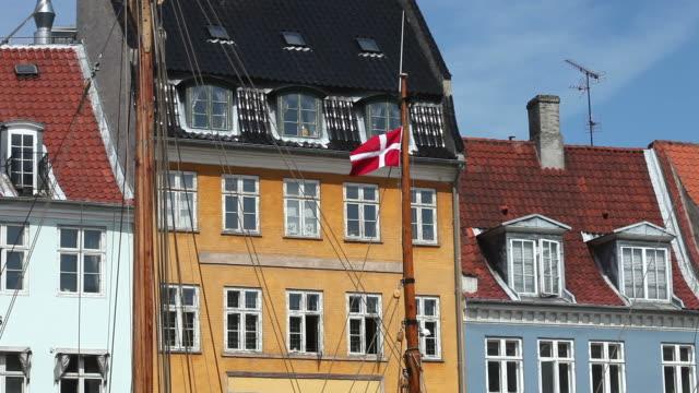 copenhagen, nyhavn - copenhagen stock videos and b-roll footage