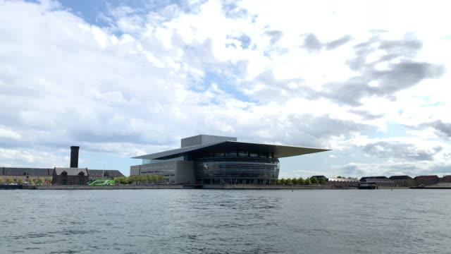 copenhagen opera house, denmark - opera stock videos & royalty-free footage