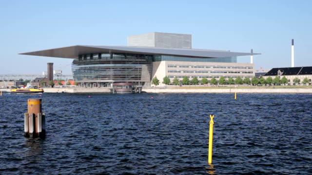 copenhagen opera house - oresund region stock videos & royalty-free footage