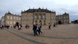 Copenhagen Palace Hyper Lapse