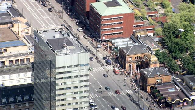 Copenhagen - Sas Hotel/Arne Jacobsen  - Aerial View - Capital Region, Copenhagen municipality, Denmark