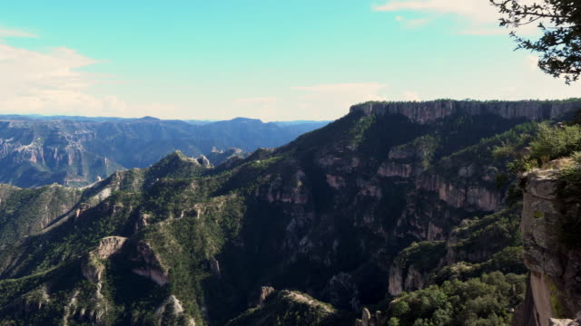 copper canyon divisadero, urique, chihuahua mexiko - sierra madre stock-videos und b-roll-filmmaterial