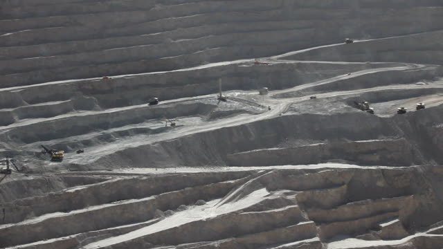 copper extraction - copper mine stock videos and b-roll footage