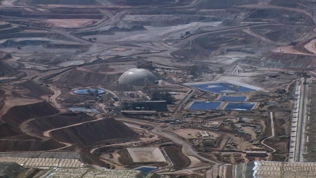 copper mine in chile - antofagasta region stock videos and b-roll footage