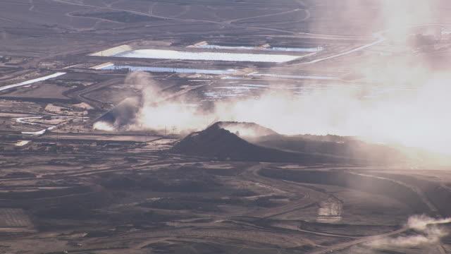 Copper mine in desert