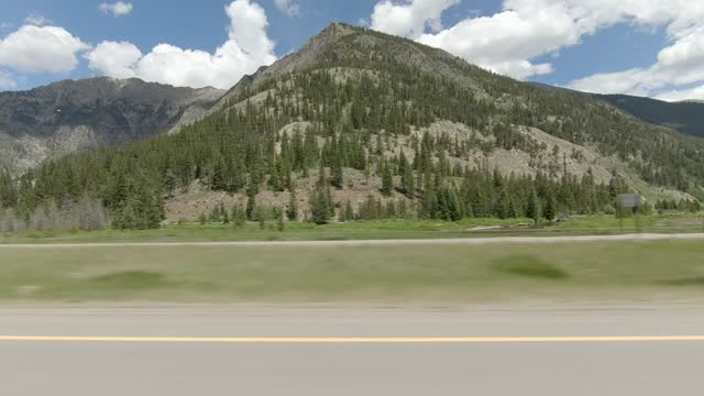 copper mountain 9 synced series left highway 70 summer driving - number 9 stock videos & royalty-free footage