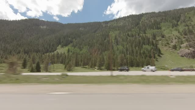copper mountain 9 synced series right highway 70 summer driving - number 9 stock videos & royalty-free footage