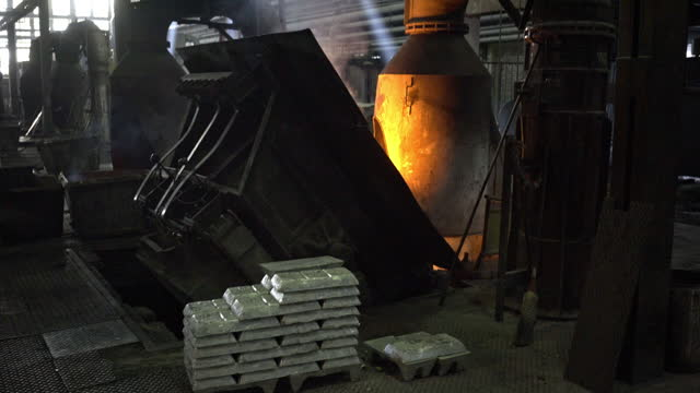 copper smelter - material stock videos & royalty-free footage