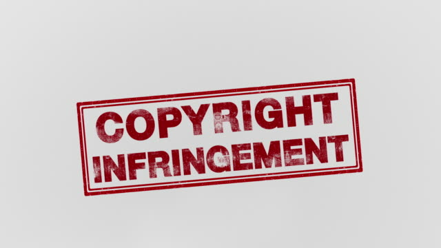 copyright infringement - intellectual property stock videos & royalty-free footage
