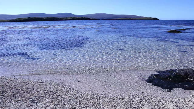 Coral Beach at Claigan, Isla de Skye.  Escocia.