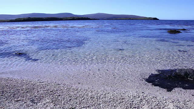 Coral Beach at Claigan, Isle of Skye. Scotland.