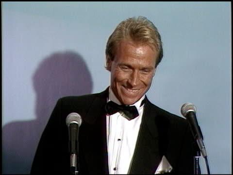 Corbin Bernsen at the 1987 Emmy Awards Inside at the Pasadena Civic Auditorium in Pasadena California on September 20 1987