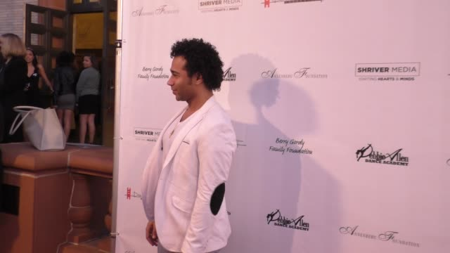 corbin bleu at the wallis annenberg center for the performing arts presents u.s. premiere of debbie allen's freeze frame in beverly hills in... - debbie allen stock videos & royalty-free footage