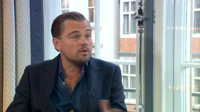 ABLA583A The Andrew Marr show sqload/marr dicaprio cam 2/1602/14/1
