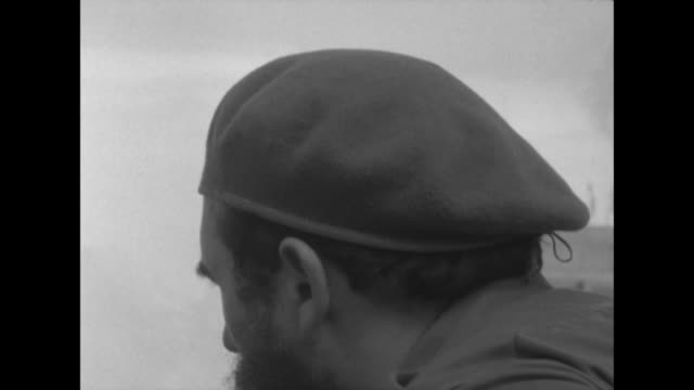 sflp318y clip taken from rushes aeyz199p - fidel castro stock videos and b-roll footage
