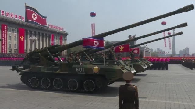 corea del norte fallo el sabado en el lanzamiento de un misil balistico una prueba que se produce mientras washington acentua su presion para hacer... - north korea stock videos & royalty-free footage