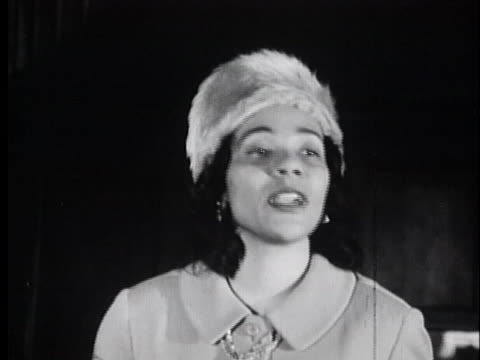 coretta scott king assures black residents of alabama that they will succeed in their voter registration drive because their cause is just. - united states and (politics or government) stock videos & royalty-free footage