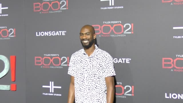 Corey Brewer at Lionsgate Presents The Los Angeles Premiere of Tyler Perry's 'Boo 2 A Madea Halloween' at LA LIVE on October 16 2017 in Los Angeles...