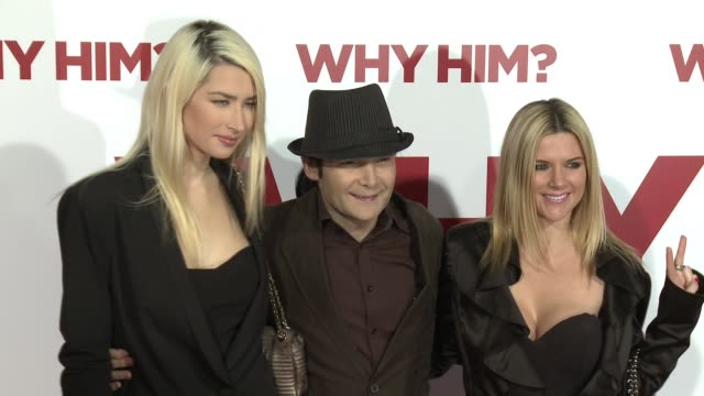 Corey Feldman and guests at the Why Him World Premiere at Regency Bruin Theater on December 17 2016 in Westwood California