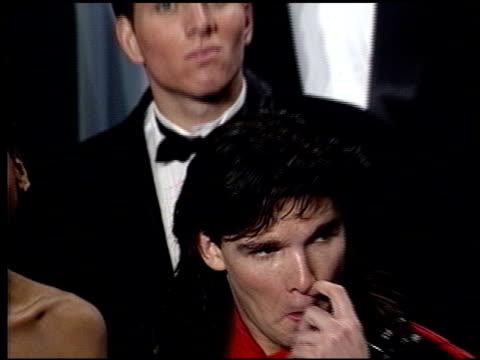 vidéos et rushes de corey feldman at the 1989 academy awards at the shrine auditorium in los angeles, california on march 29, 1989. - 61e cérémonie des oscars