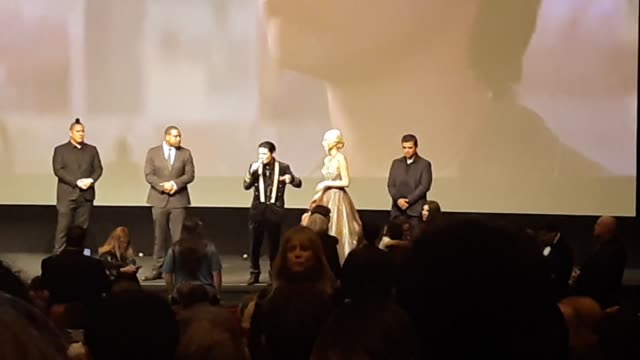 corey feldman panics when his live feed goes down seconds before accusing charlie sheen as his molester at the directors guild of america in los... - director's guild of america stock videos & royalty-free footage