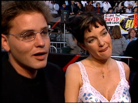 Corey Haim at the Premiere of 'The X Files Fight the Future' on June 11 1998
