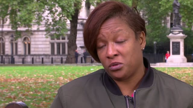 Mother interview ENGLAND London Keisha McLeod interview SOT CJ was only 14 years old he didn't harm anybody