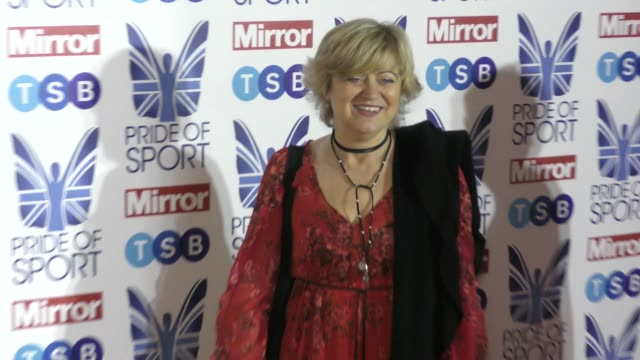 corinne hutton at the pride of sport awards 2019 at grosvenor house on december 5 2019 in london england - sport stock videos & royalty-free footage