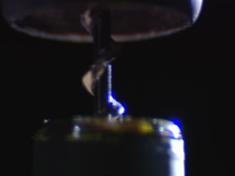 a corkscrew opens a bottle of wine. - bottle opener stock videos & royalty-free footage