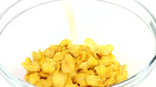 Cornflakes und Milch