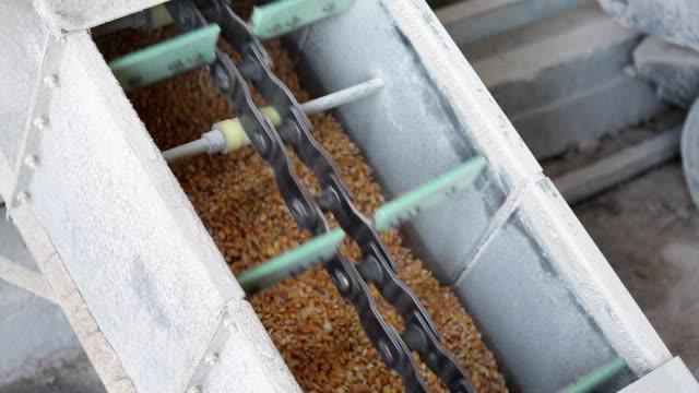 vídeos de stock, filmes e b-roll de fábrica de processamento de milho - cereal plant