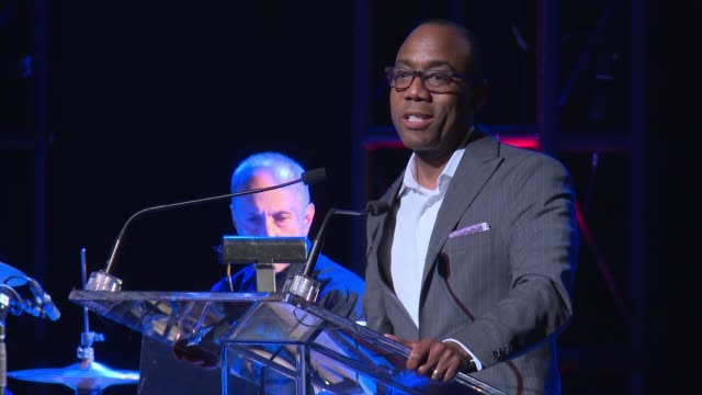 cornell william brooks encourages audience to consecrate this day with hope, on witnessing hope in selma and ferguson among others, quotes lift every... - voice stock videos & royalty-free footage