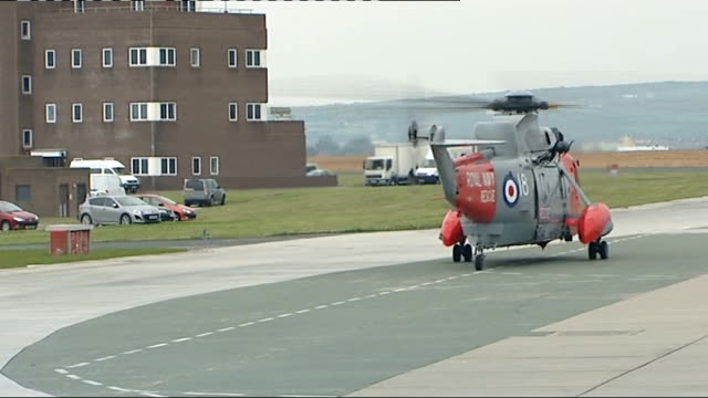 cornwall general views of royal navy rescue helicopters at lands end - lands end cornwall stock videos and b-roll footage