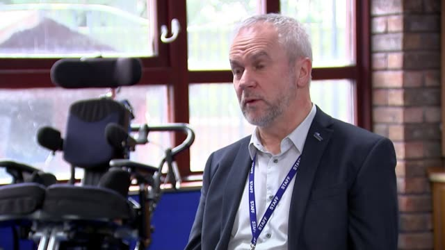 special needs schools have no guidance over whether to stay open england east sussex downs view school adrian carver setup and interview sot various... - east sussex stock videos & royalty-free footage