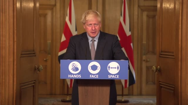 downing street press conference september 9th; england: london: westminster: downing street: int press conference part 2 of 13 professor chris whitty... - animation moving image stock videos & royalty-free footage