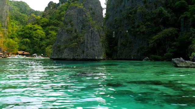 coron island - bay of water stock videos and b-roll footage