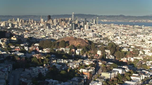 Corona Heights, San Francisco met Cityscape buiten - antenne