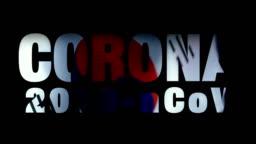 Corona Virus on South Korean Flag