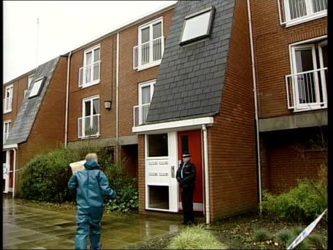 Coronation Street Star John Savident stabbing Man appears in court LIB Flats where Savident lives and was attacked Window of flat Flats