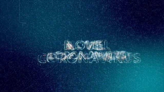 coronavirus 2019-ncov title animation - disease vector stock videos & royalty-free footage