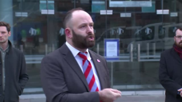 andy burnham press conference / reaction to government tier 3 package offer england manchester the bridgewater hall paul dennett statement sot - bridgewater hall stock videos & royalty-free footage